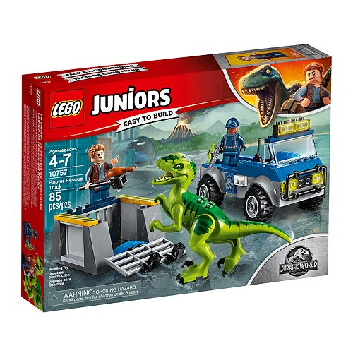 LEGO Juniors Raptor Rescue Truck Set 10757