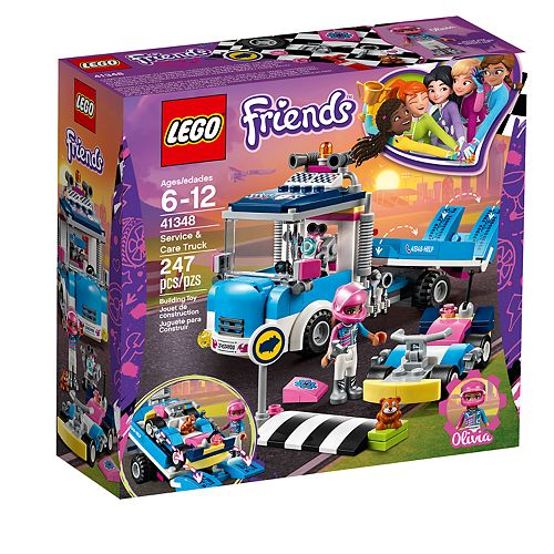 LEGO Friends Service & Care Truck Set 41348