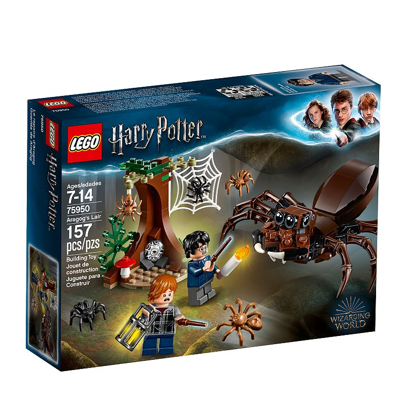 LEGO Harry Potter and The Chamber of Secrets Aragog's Lair Kit Now $8.99 (Was $14.99)