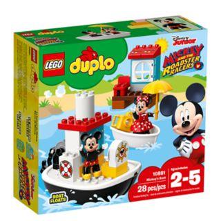 Disney's Mickey Mouse LEGO DUPLO Mickey's Boat Set 10881