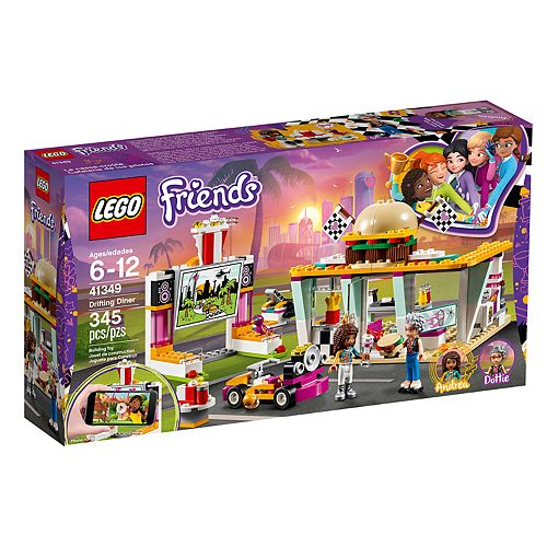 LEGO Friends Drifting Diner Set 41349