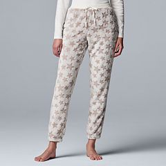 Women's Simply Vera Vera Wang Plush Joggers