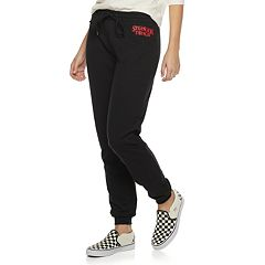 Juniors' Stranger Things Graphic Jogger Sweatpants