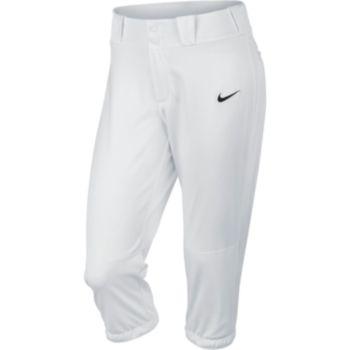 Women's Nike Diamond Invader Softball Mid-Rise Capri Pants
