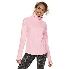 Women's Tek Gear® Lightweight Microfleece Turtleneck Top
