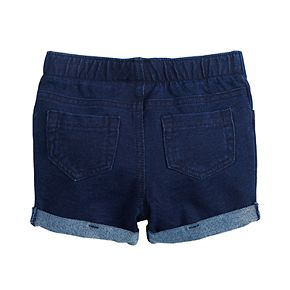 'Baby Girl Jumping Beans® Cuffed Jegging Shorts