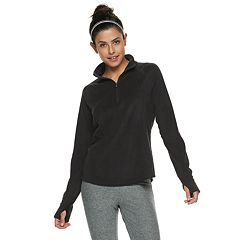 Women's Tek Gear® Lightweight Microfleece 1/4 Zip Top