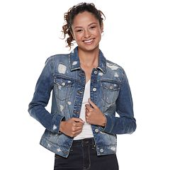 Juniors' Mudd® Denim Jacket