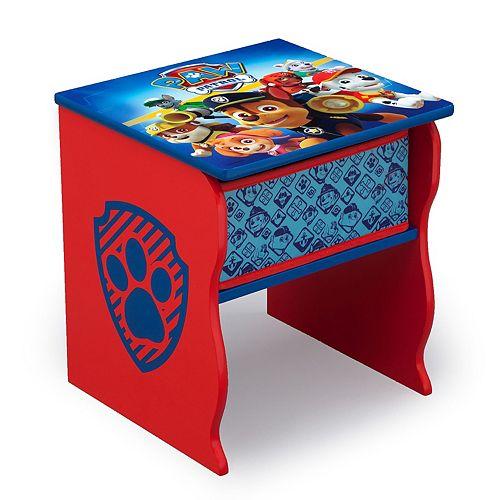 Delta Children Paw Patrol Side Table with Storage