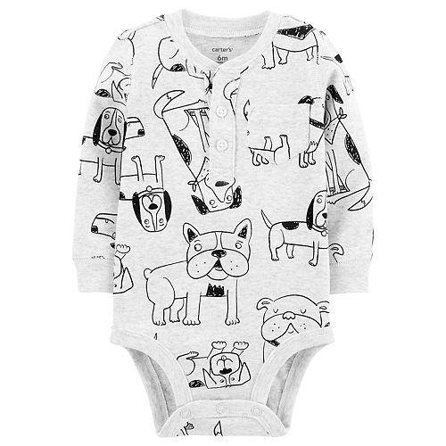 Baby Boy Carter's Henley Bodysuit