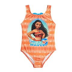 Disney's Moana Girls 4-6x One-Piece Swimsuit