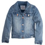 Girls 7-16 Levi's® Distressed Trucker Jacket