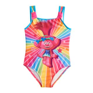 Girls 4-6x DreamWorks Trolls Poppy One-Piece Swimsuit