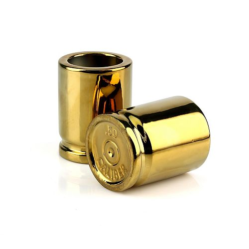 Barbuzzo 2-pack 50-Caliber Shot Glasses