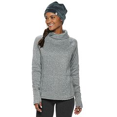 Women's Tek Gear® Cross Neck Fleece Top