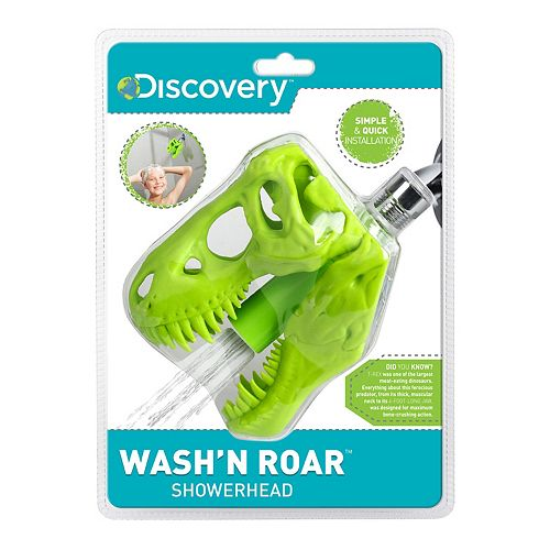 Barbuzzo Wash 'n Roar Shower Head