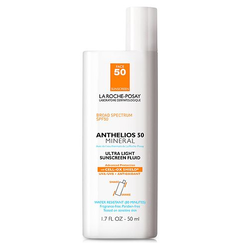 La Roche-Posay Anthelios Mineral Ultra Light Sunscreen Fluid - SPF 50