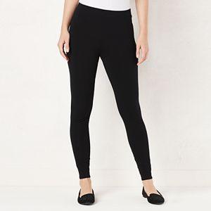 0a211ca21d5332 Sale. $14.99. Regular. $20.00. Petite LC Lauren Conrad Mid-Rise Leggings