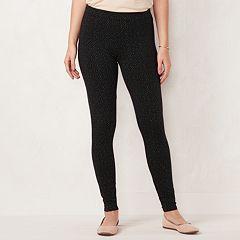 Petite LC Lauren Conrad Mid-Rise Leggings