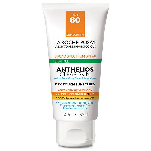 La Roche-Posay Anthelios Clear Skin Dry Touch Sunscreen - SPF 60