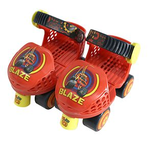 Playwheels Blaze and the Monster Machines Roller Skates & Knee Pads Set