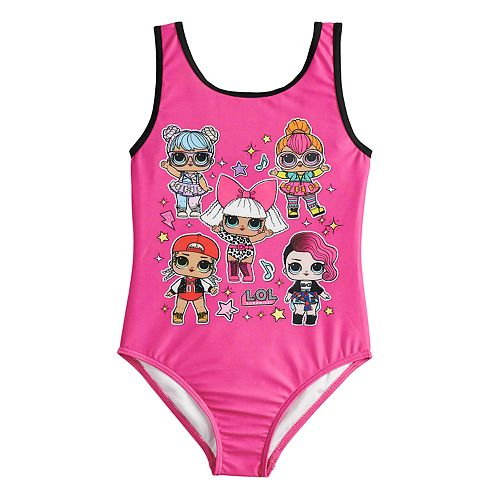 d90f69ccf9872 Girls 5-8 L.O.L. Surprise! One-Piece Swimsuit