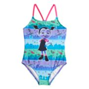 Disney's Vampirina Girls 4-6x Vee One-Piece Swimsuit