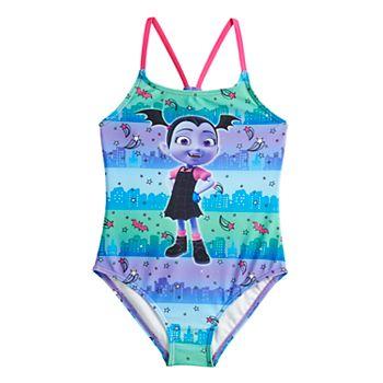 Disney's Vampirina Girls 4-6x Vee One-Piece Swimsuit