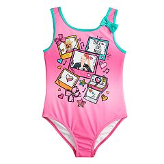 140718671063 Girls 4-6x JoJo Siwa One-Piece Swimsuit