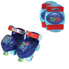 DreamWorks Trolls Roller Skates & Knee Pads Set by Playwheels