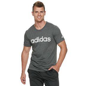 Men's adidas Mesh Linear Logo Tee