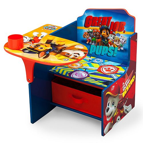 Fabulous Delta Children Paw Patrol Chair Desk With Storage Bin Pdpeps Interior Chair Design Pdpepsorg
