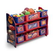 Disney / Pixar Cars 9-Bin Plastic Toy Organizer by Delta Children