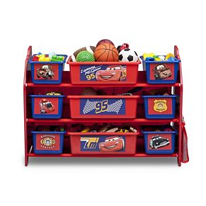Disney / Pixar Cars 9-Bin Plastic Toy Organizer by Delta Children