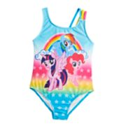 Girls 4-6x My Little Pony One-Piece Swimsuit