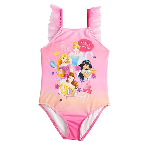 Disney Princess Girls4-6x One-Piece Swimsuit