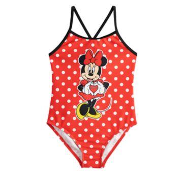 Disney's Minnie Mouse Girls 4-6x One-Piece Swimsuit