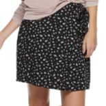 Juniors' SO® Challis Wrap Skirt