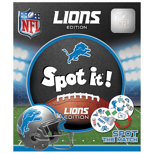 Detroit Lions Spot It! Game