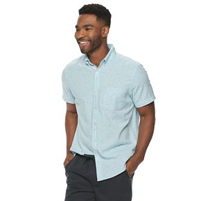 Men's Sonoma Goods for Life? Solid Textured Button-Down Shirt