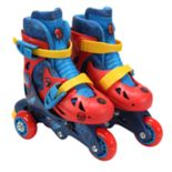 Playwheels Marvel Spider-Man Convertible Roller Skates