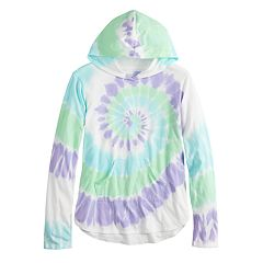 Girls 7-16 SO® Long Sleeve Hooded Tee