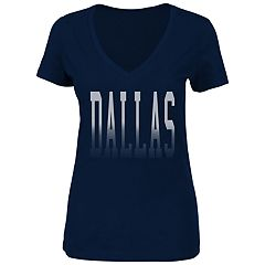 Plus Size Dallas Cowboys Distressed Tee
