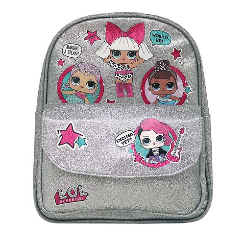 Girls L.O.L. Surprise! Mini Glitter Backpack