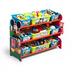 Disney's Mickey Mouse 9 Bin Toy Organizer by Delta Children