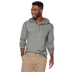 Men's SONOMA Goods for Life™ Supersoft Henley Hoodie