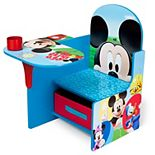 Disney's Mickey Mouse Chair Desk With Storage Bin by Delta Children