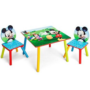 Disney's Mickey Mouse Table & Chairs Set by Delta Children
