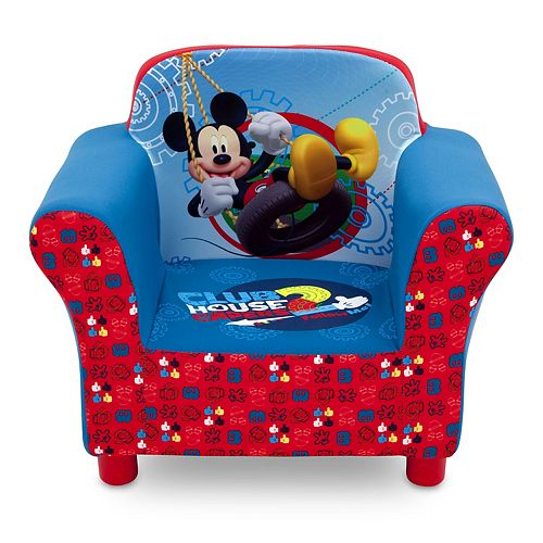 Disney's Mickey Mouse Upholstered Arm Chair by Delta Children