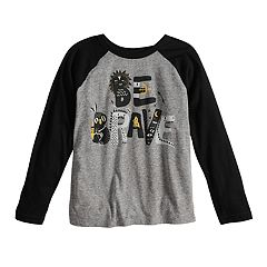 Boys 4-8 Jumping Beans® 'Be Brave' Raglan Graphic Tee